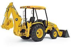 Where to rent LOADER BACKHOE JD 110TLB in Wilmington DE