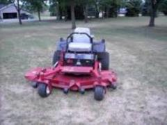 Rental store for 62  ZERO TURN FINISH CUT MOWER in Wilmington DE